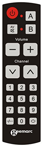 Geemarc EASY TV 10 Télécommande Universelle 2