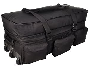 Sandpiper of California Rolling Loadout Sac de voyage XL, mixte, noir
