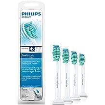 Philips Sonicare ProResults HX6014/07 4pieza(s) Color blanco cepillo de cabello - Cabezal (Color blanco)
