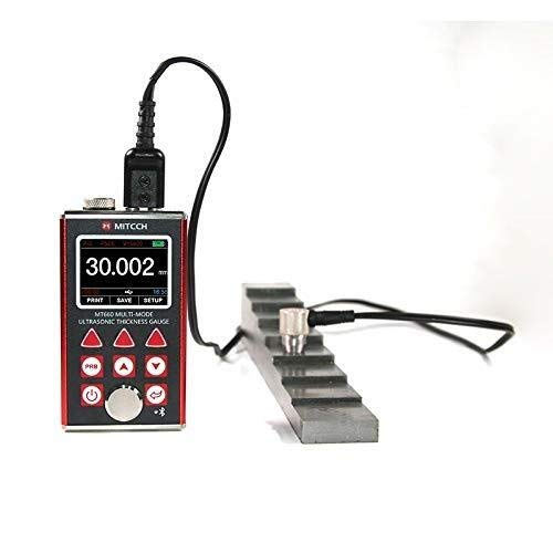 ZGQA-GQA Messinstrument der hohen Präzision bewegliche Digital OLED Ultraschall Dickenmessgerät MT660 Professional Testing-Tester