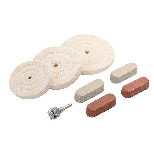 silverline-351903-kit-de-8-polissages-lustrages-100-125-150-mm