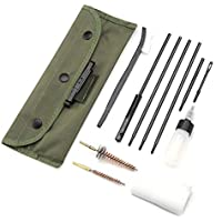 Kit de Limpieza de Pistolas - Juego de Limpieza de Escopeta multifunción Limpiador de Pinceles Herramientas de Limpieza de Pistolas, 12 Piezas/Juego