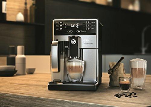 Saeco HD8927/01 PicoBaristo Kaffeevollautomat (1450 Watt, integriertes Milchsystem) edelstahl - 5