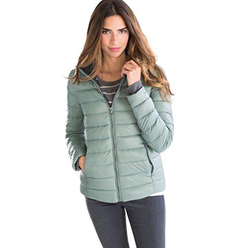 C&A Damen Daunenjacke Übergangsjacke Steppjacke mintgrün Größe 38
