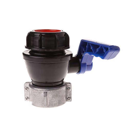 IBC Total Tank Ball Valve Drain Adapter 2.44
