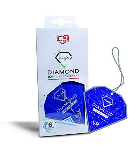 Profumi & Co - Profumo Auto Diamond Magic - L'Unica Fragranza Ispirata ai Profumi Personali Più Famosi - Profumo Per Auto Nuova - Fragranza Dura 1 Mese E Mezzo - Set Di 3 - Made In Italy (One Million)