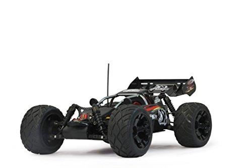 Jamara 053270 - Fahrzeuge, RC-Buggy Splinter EP-Version 1:10, 2.4 GHz mit LED