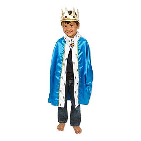 Roi Costume De Déguisement Pour Enfants - Déguisement pour enfant - Déguisement de roi