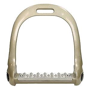 Epplejeck Steigbügel Color Aluminium Grip – Gold – Gr. 12,0 cm