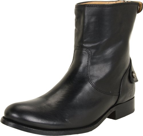 frye-melissa-button-zip-short-boot-damen-us-55-schwarz