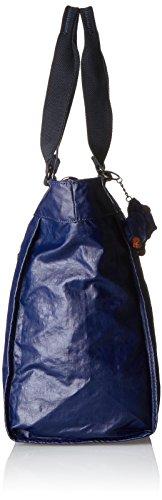 Kipling Damen New Shopper L Tote, 48.5x34x0.1 Cm Blau (lacca Indaco)