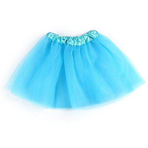 Zu Machen Tanz Kostüm - MORESAVE Mädchen Ballettröckchen 3-Layer Tüllrock Dancewear Party Tanz Kostüme