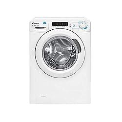 Candy CSS 14102D3-S Waschmaschine, freistehend, Frontlader, 10 kg, 1400 U/min, Energieeffizienzklasse A++, Weiß