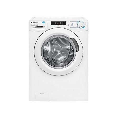 Candy CSS 14102D3-S Waschmaschine, freistehend, Frontlader, 10 kg, 1400 U/min, Energieeffizienzklasse A++, Weiß -