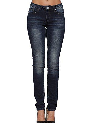 Alice & Elmer Damen Stretch Normaler Bund Slim Skinny Jeans Blau-61002 29W x 30L