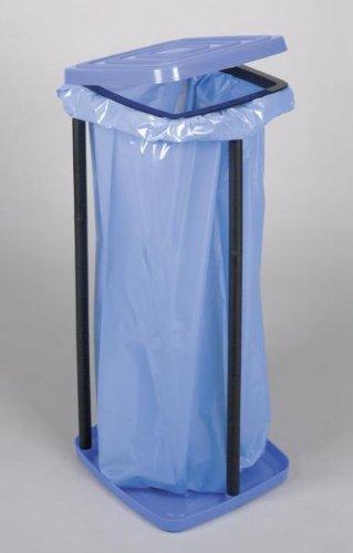 *Müllsackständer aus Kunststoff mit Deckel, bis ca. 60 Liter*