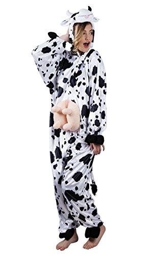 Boland 88003 Erwachsenenkostüm Kuh aus Plüsch, ()
