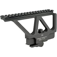 Midwest Industries AK Railed Scope Mount with American Defense Throw Lever, Black by Midwest