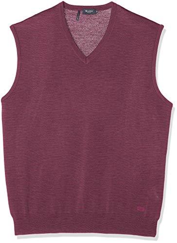 Maerz Herren Pullunder Pullover, Rosa (Venice Pink 755), X-Large (Herstellergröße: 54)