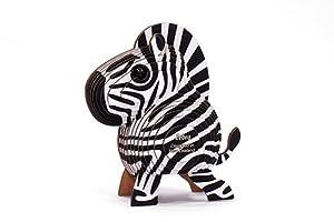 Dodo País 61122-Puzzle eugy-Zebra