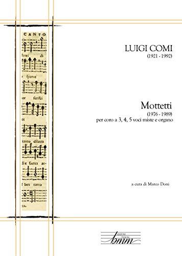 Luigi Comi. Mottetti