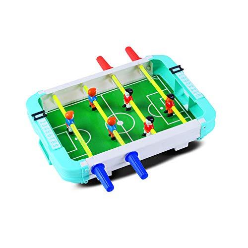 Lomsarsh Mini tischfußball tragbare Mini 4-Post fußballspiel Set zufällige Farbe interaktive pädagogische Spielzeug Geschenk für Kinder
