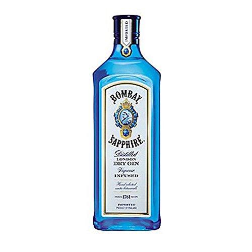 Bombay Sapphire destilada London Dry Gin 70cl (paquete de 6 x 70 cl)