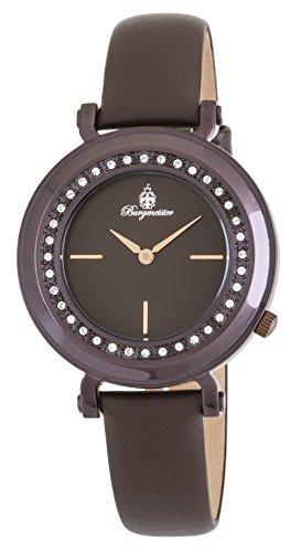 Burgmeister Women's Analogue Quartz Watch with Leather Strap BM809-095