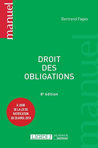 Droit des obligations par Bertrand Fages