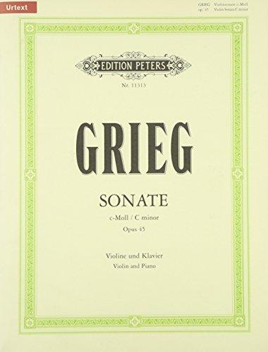 Preisvergleich Produktbild Sonate Nr. 3 c-Moll op. 45: Für Violine und Klavier