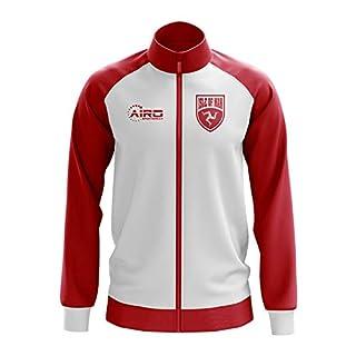 Airo Sportswear Isle of Man Concept Football Track Jacket (White)