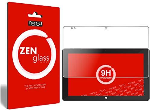 ZenGlass Flexible Glas-Folie für TrekStor SurfTab Twin 11.6 Panzerfolie I Bildschirm-Schutzfolie 9H