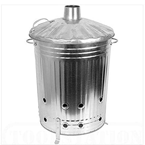 Incinerator Bin / Yard Garden Landscaping Landscape Home House Patio Backyard Design Gadgets Stuff Birthday Gift Botany Plant Gardening Vegetable Container Flower Planning Front Maintenance Contemporary Layout Planting Modern Shop Store