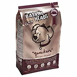Barking Heads Quackers Grain-Free Adult Dog Food 2kg