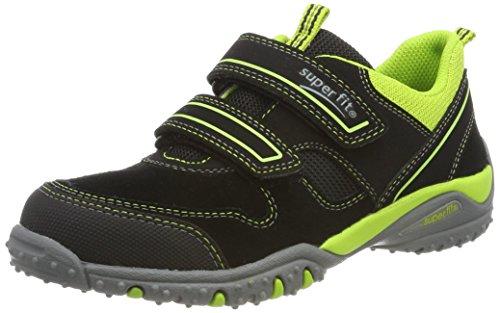 Superfit Jungen SPORT4 Sneaker, Schwarz (Schwarz Kombi), 37 EU