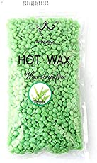 SWEET PEA Flavored Hair Removal Hard Wax Beans Hard Body Wax Beans For Facial Arm Legs (Weight 1kg) (Tea Tree)