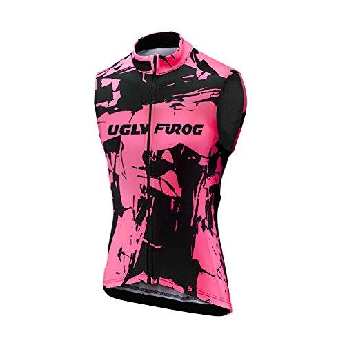 Uglyfrog 2018-2019 Damen Sommer Ärmelloses Frauen Die Jersey Fahrrad Bekleidung Triathlon Vest Fahrradweste Fahrradbekleidung UFZO07