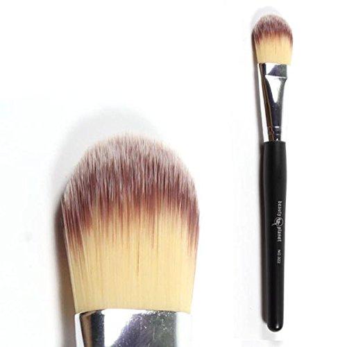♥Xjp 1PCS Poudre Correcteur fard à joues Fond de teint liquide pinceaux de maquillage ♥