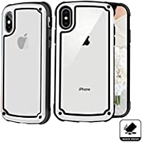 iPhone X/XS Case,Shockproof with Four Corner Protective Cover,Clear Soft TPU