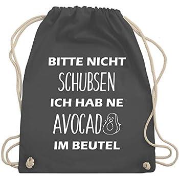Turnbeutel Rucksack Beutel Sportbeutel mit Druck Spruch Motiv ONE IN A MELON