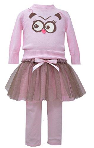 Bonnie Jean Mädchen Kleid Rosa Pink Brown Bonnie Jean Kleid 14