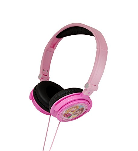Princesas Disney - Cascos estéreo, color rosa (Lexibook HP010DP)