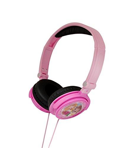 Princesas Disney - Cascos estéreo, color rosa (Lexibook HP010DP)