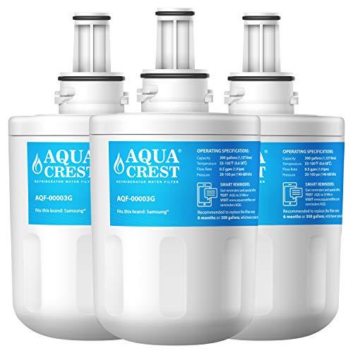 AQUACREST Compatible Samsung Aqua Pure PLUS DA29-00003G, DA29-00003F, DA29-00003B, DA29-00003A, HAFIN2/EXP, DA97-06317A, DA61-00159A, DA2900003A,Filtr...