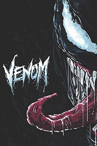 Venom: Blank lined notebook, Journal Or a Diary To Write Down Ideas, Follow up, projects for women, men & children have Durable 6