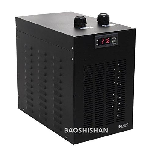 BAOSHISHAN Aquarium Wasser Kühler Fische Tank Kühlschrank Spezielle Leise Design Kältetechnik Kompressor für Waterweeds/Qualle/Koralle/Crystal Garnelen