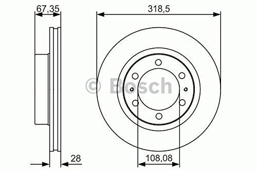 Bosch BD1781 Disque de Frein