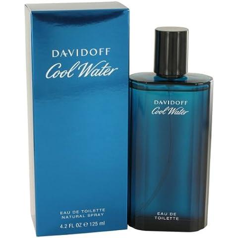 Cool Water Cologne by Davidoff, 4.2 oz Eau De Toilette Spray for Men by Davidoff
