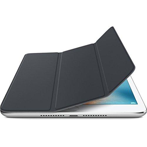 samLIKE Luxus dünner magnetischer lederner intelligenter Abdeckungs Schlaf Fall für iPad Mini 4 (Schwarz)