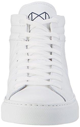 Nat-2 Sleek, Sneakers basses mixte adulte Weiß (all white)